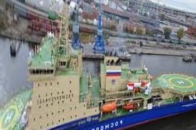 St. Petersburg - The icebreaker
