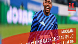 Malcom (Zenith Saint Petersburg) withdraws from OL in the Champions League
