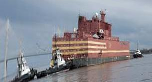 The world's first floating nuclear power plant from Russia: 'Academic Lomonosov' embarks on its first journey