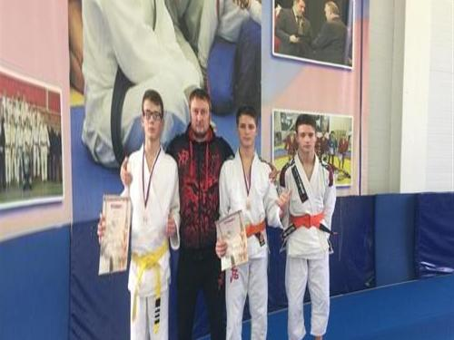 Petersburgers won the home tournament in ju-jitsu
