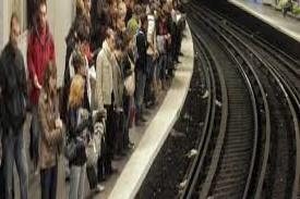 The number of passengers on the Paris metro is growing, making trains more crowded than ever before